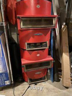 Lot of two TurboChef FIRE Countertop Convection Pizza Ovens
