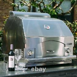Lynx Professional Napoli 30 Built-In / Counter Top NG Outdoor Pizza Oven