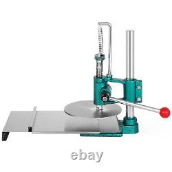 Manual Pastry Press Machines Stainless Steel 7.8 Cake Pizza dough Bread Press