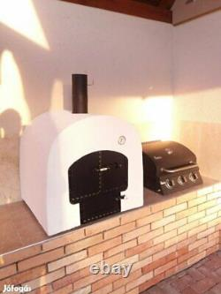 Mobile wood-fired oven, Original Hungarian handmade outdoor-oven. Pizza oven