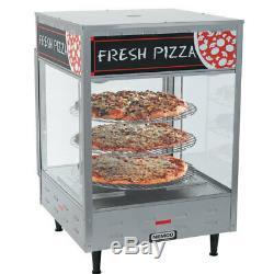 NEW 22.25 Heated Rotating Pizza Display Warmer 4 18 Tiers Nemco 6452 #1096 NSF
