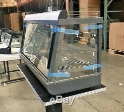 NEW 48 Commercial Dry Heated Showcase Display Hot Food Snack Pizza Warmer NSF