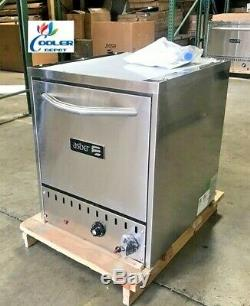 NEW Commercial Stone Base Pizza Oven Bakery Pizzeria Cooker Wings NSF SS NAT GAS