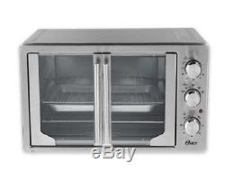 NEW Oster Convection Oven Toaster Pizza Extra Large Stainless Steel Countertop