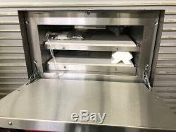 NEW Pizza Bake Oven Double Stone Deck Electric NSF Vollrath POA 8002 40848 #2587