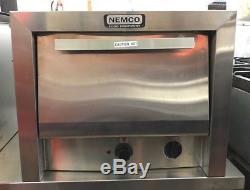 Nemco 8216-1323 Electric Pizza Oven Countertop Commercial 19 Double Stone 120v