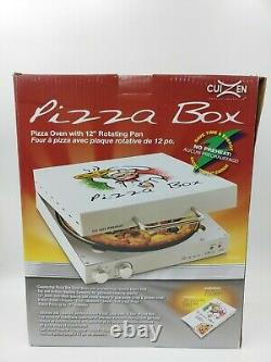 New CuiZen Pizza Box Portable Rotating Oven Countertop 12 Pizza Maker PIZ-4012