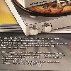 New CuiZen Pizza Box Portable Rotating Oven Countertop Pizza Maker PIZ-4012