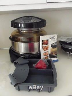 NuWave Countertop Elite Dome Oven with Extender Ring Kit + pizza kit ++extra