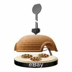 NutriChef Upgraded Electric Pizza Oven Artisan Version 1100 Watt Countertop P