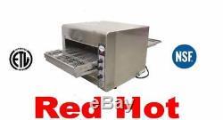 Omcan 11387 Conveyor Commercial Countertop 14 Pizza Baking Oven CE-TW-0356