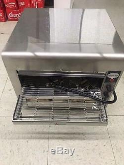 Omcan 11387 Conveyor Commercial Restaurant Counter Top Pizza Baking Oven TS7000