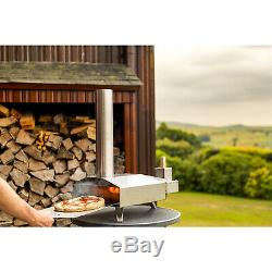 Ooni 3 Outdoor Pizza Oven, Pizza Maker, Portable Oven w Ooni Gloves And Pellets