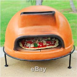 Outdoor Kitchen Pizza Wood Burning Fire Grill Stove Counter Top Maker Baker Oven