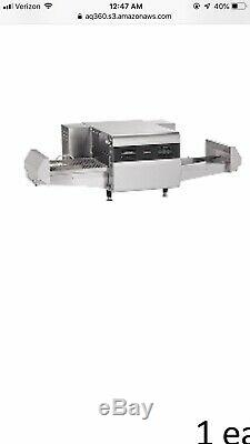 Ovention Matchbox 1718 Pizza Convection Quick Conveyor Oven Ventless Countertop