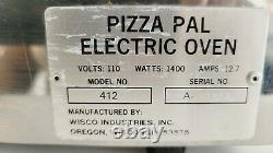 PIZZA PAL Commercial Grade Electric Oven by Wisco Industries 412 (412-3) 5. D1