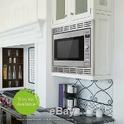 Panasonic 1250W Microwave Oven Cooking Frozen Vegetables Pizza Pasta 2.2 Cu. Ft