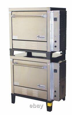 Peerless CE231PESC Double Door Six Shelf Countertop Electric Pizza Oven