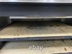 Peerless Electric Pizza Deck Oven, Six Deck