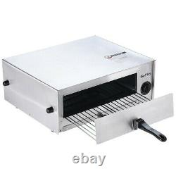 Pizza Cooker Countertop Oven Home-Commercial Use Auto Timer Stainless Steel Pan