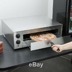 Pizza Electric Oven Snack Cooker Stainless Steel Countertop Commercial Toaster