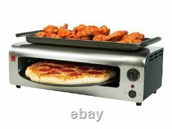 Pizza & More Pizza oven 1175 W black stainless steel Limited Version