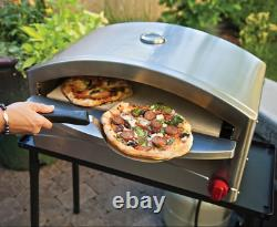 Pizza Oven Countertop Stainless Steel Camp Chef Italia Artisan LP Propane Gas