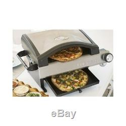 Pizza Oven Stainless Steel Electric Counter Top Kitchen Bake Snake Portable New