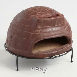 Pizza Wood Oven Terracotta Clay Metal Brick Fire outdoor/indoor Countertop