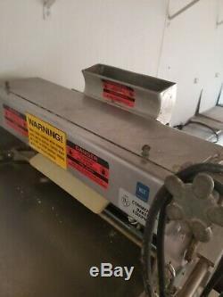 Pizza bench dough roller machine