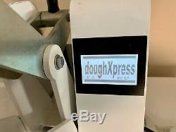 Pizza dough press