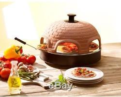 Pizzarette The Worlds Funnest Pizza Oven 6 Person Model Countertop Pizza