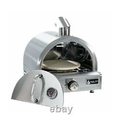 Portable Pizza Oven Stainless Steel Camping Outdoor Roasting Chicken Turkey Meat