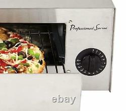 Professional Series PS75891 Stainless Steel 12 Pizza Baker Frozen Food Oven w
