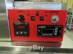 Q-Matic Q-20ECM 18 Conveyer Pizza/Sandwich Oven, 110/220v 1ph