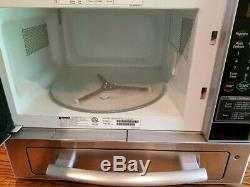 RARE Stainless Steel Kenmore Countertop Microwave & Pizza Oven 721.66993
