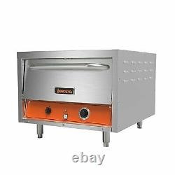 Sierra SRPO-24E 26 Double Deck Electric Countertop Pizza Oven with Manual Contr