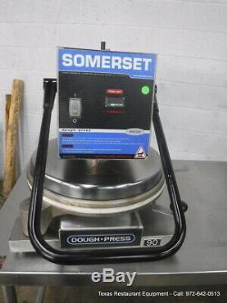 Somerset Doughpress SDP-747D Countertop Pizza Dough Press 120 Volts