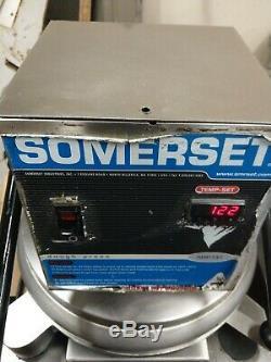 Somerset SDP-747D Dough Press commercial Pizza Tortilla Pita Flat bread Heated