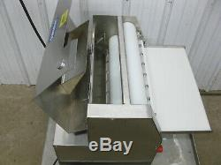 Somerset Stainless Steel Double Pass Pizza Dough Bakery Sheeter Roller CDR-2000