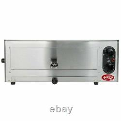 Stainless Steel Pizza Oven Commercial Kitchen Countertop Toaster Oven 120V NEW