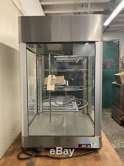 Star Model HFD-2A HUMIDITY Heated Warmer Food Pizza Display Merchandiser Rotates