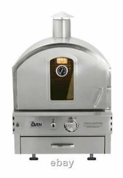 Summerset Countertop / Built In Pizza Oven Natural Gas