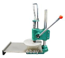 TECHTONGDA 9.5 inch Household Pizza Dough Pastry Manual Press Machine Bigger