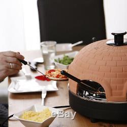 TableTop Chefs Pizzarette Classic 4 Person Indoor Countertop Mini Pizza Oven