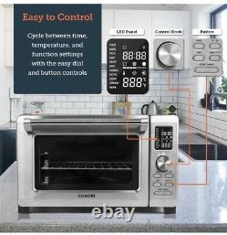 Toaster Combo Convection Countertop Oven with Rotisserie Dehydrator & Pizza 25L