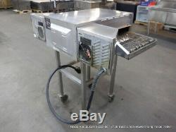 Turbochef HHC2020 Electric Countertop High Speed Conveyor Pizza Oven with stand