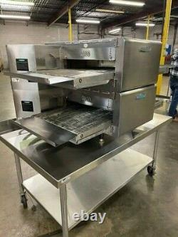 Turbochef Hhc2020, Double Stack Conveyor Pizza Ovens Counter Top Set- #15532