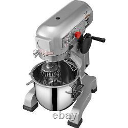 VEVOR 20Qt Electric Food Stand Mixer Dough Mixer 3 Speed Commercial Pizza 750W