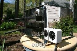 WISCO / PIZZA PAL Model 212-2 Dual Tray Countertop Commercial Pizza Oven